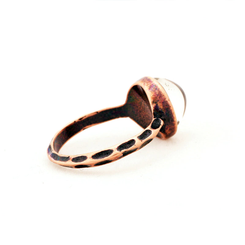 Mood Ring [Round] Copper - Hipsters Wonderland - Tumblr Clothing - Tumblr Accessories- Aesthetic Clothing - Aesthetic Accessories - Hipster's Wonderland - Hipsterswonderland