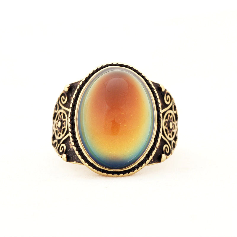 Mood Ring [Vintage] Bronze - Hipsters Wonderland - Tumblr Clothing - Tumblr Accessories- Aesthetic Clothing - Aesthetic Accessories - Hipster's Wonderland - Hipsterswonderland