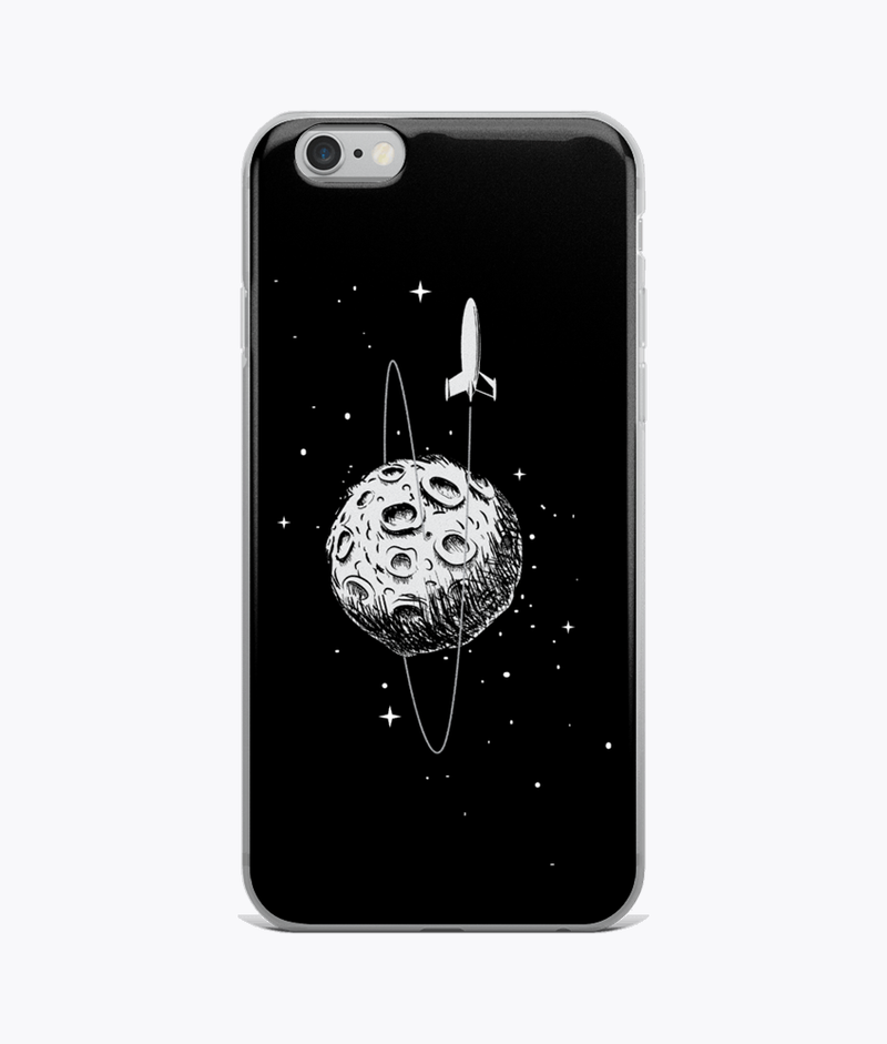 Leaving the Moon Clear iPhone Case - Hipsters Wonderland - Tumblr Clothing - Tumblr Accessories- Aesthetic Clothing - Aesthetic Accessories - Hipster's Wonderland - Hipsterswonderland
