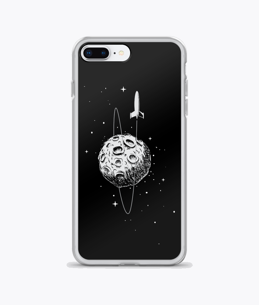 Leaving the Moon iPhone Cases - Hipsters Wonderland - Tumblr Clothing - Tumblr Accessories- Aesthetic Clothing - Aesthetic Accessories - Hipster's Wonderland - Hipsterswonderland