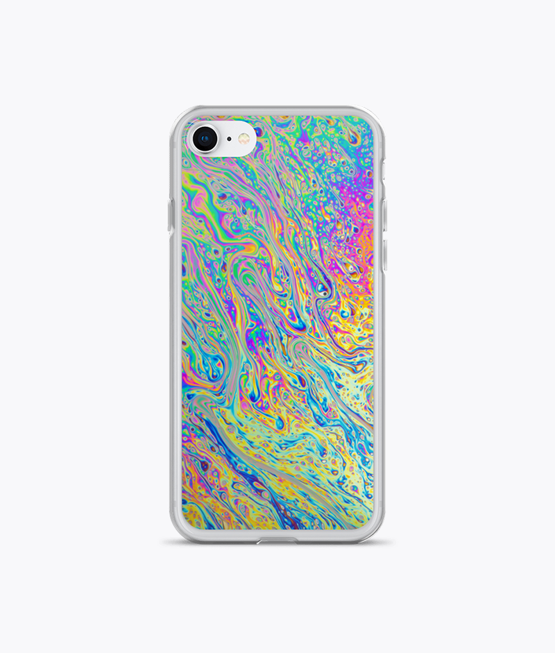 Liquids Clear iPhone Case - Hipsters Wonderland - Tumblr Clothing - Tumblr Accessories- Aesthetic Clothing - Aesthetic Accessories - Hipster's Wonderland - Hipsterswonderland