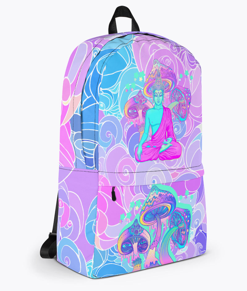 Magic Mushrooms Backpack - Hipsters Wonderland - Tumblr Clothing - Tumblr Accessories- Aesthetic Clothing - Aesthetic Accessories - Hipster's Wonderland - Hipsterswonderland