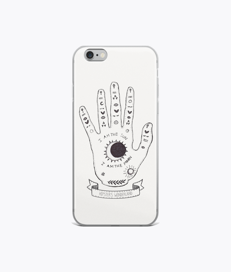 Palmistry Hand iPhone Cases - Hipsters Wonderland - Tumblr Clothing - Tumblr Accessories- Aesthetic Clothing - Aesthetic Accessories - Hipster's Wonderland - Hipsterswonderland
