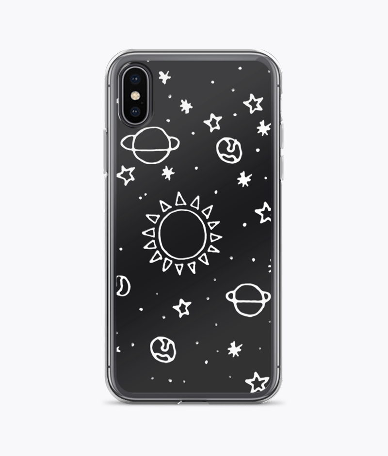 Planets Hand Drawn iPhone Cases - Hipsters Wonderland - Tumblr Clothing - Tumblr Accessories- Aesthetic Clothing - Aesthetic Accessories - Hipster's Wonderland - Hipsterswonderland