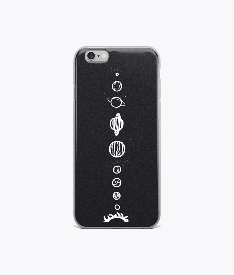 Solar System iPhone Cases - Hipsters Wonderland - Tumblr Clothing - Tumblr Accessories- Aesthetic Clothing - Aesthetic Accessories - Hipster's Wonderland - Hipsterswonderland