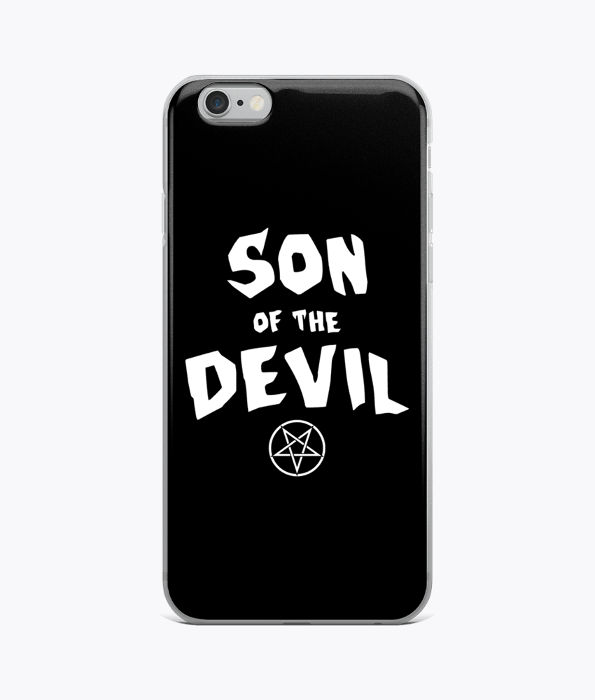 Son of the Devil iPhone Cases - Hipsters Wonderland - Tumblr Clothing - Tumblr Accessories- Aesthetic Clothing - Aesthetic Accessories - Hipster's Wonderland - Hipsterswonderland