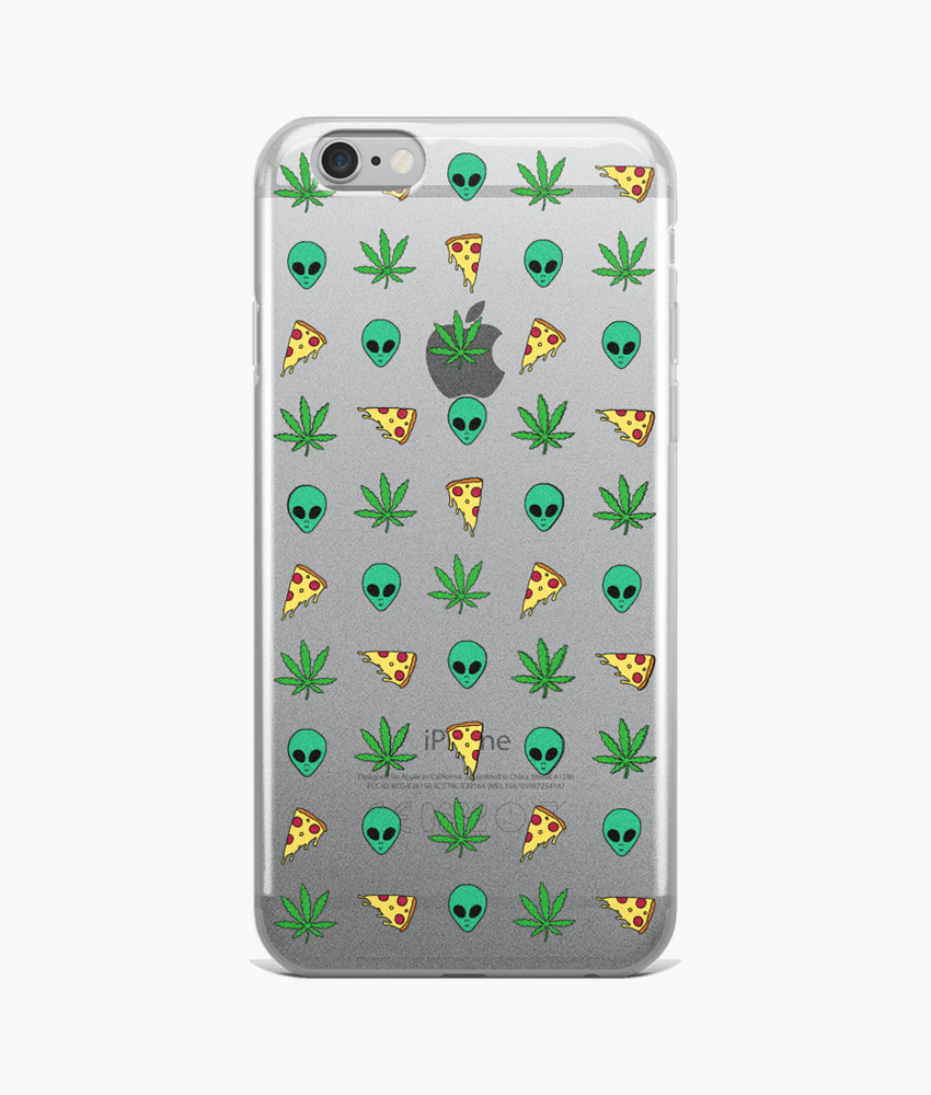 Trippy Pins Clear iPhone Cases - Hipsters Wonderland - Tumblr Clothing - Tumblr Accessories- Aesthetic Clothing - Aesthetic Accessories - Hipster's Wonderland - Hipsterswonderland