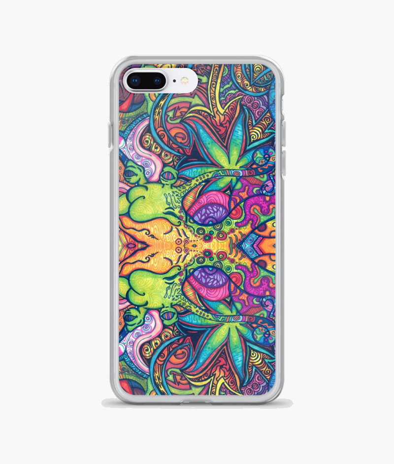 Trippy Weed iPhone Cases - Hipsters Wonderland - Tumblr Clothing - Tumblr Accessories- Aesthetic Clothing - Aesthetic Accessories - Hipster's Wonderland - Hipsterswonderland
