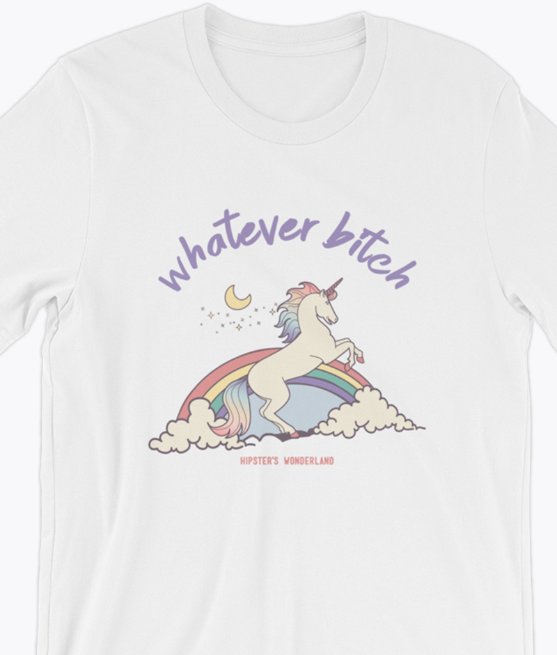 Whatever T-Shirt - Hipsters Wonderland - Tumblr Clothing - Tumblr Accessories- Aesthetic Clothing - Aesthetic Accessories - Hipster's Wonderland - Hipsterswonderland