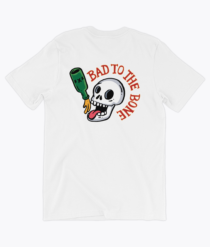 Bad Bone T-Shirt - Hipsters Wonderland - Tumblr Clothing - Tumblr Accessories- Aesthetic Clothing - Aesthetic Accessories - Hipster's Wonderland - Hipsterswonderland