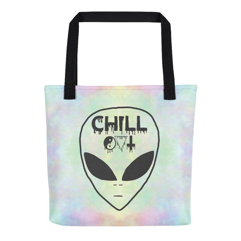 Chill Out Tote Bag - Hipsters Wonderland - Tumblr Clothing - Tumblr Accessories- Aesthetic Clothing - Aesthetic Accessories - Hipster's Wonderland - Hipsterswonderland