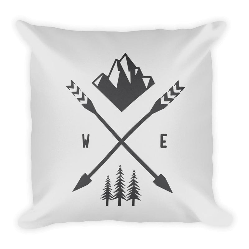 Following Nature Square Pillow - Hipsters Wonderland - Tumblr Clothing - Tumblr Accessories- Aesthetic Clothing - Aesthetic Accessories - Hipster's Wonderland - Hipsterswonderland