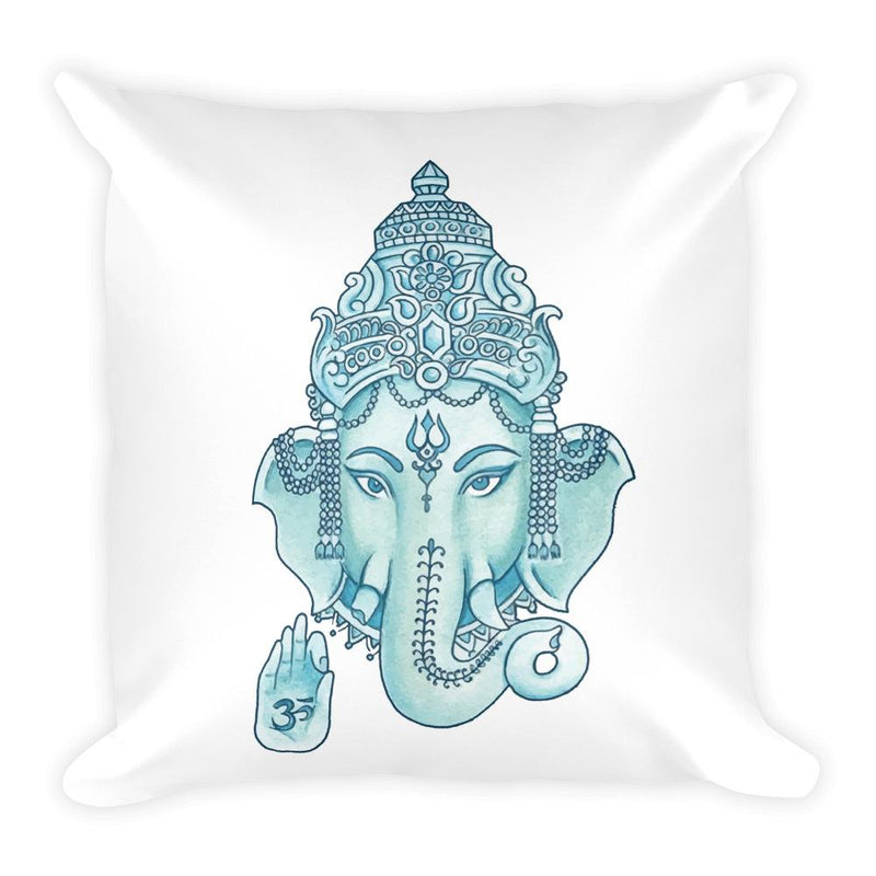 Ganesha Square Pillow - Hipsters Wonderland - Tumblr Clothing - Tumblr Accessories- Aesthetic Clothing - Aesthetic Accessories - Hipster's Wonderland - Hipsterswonderland