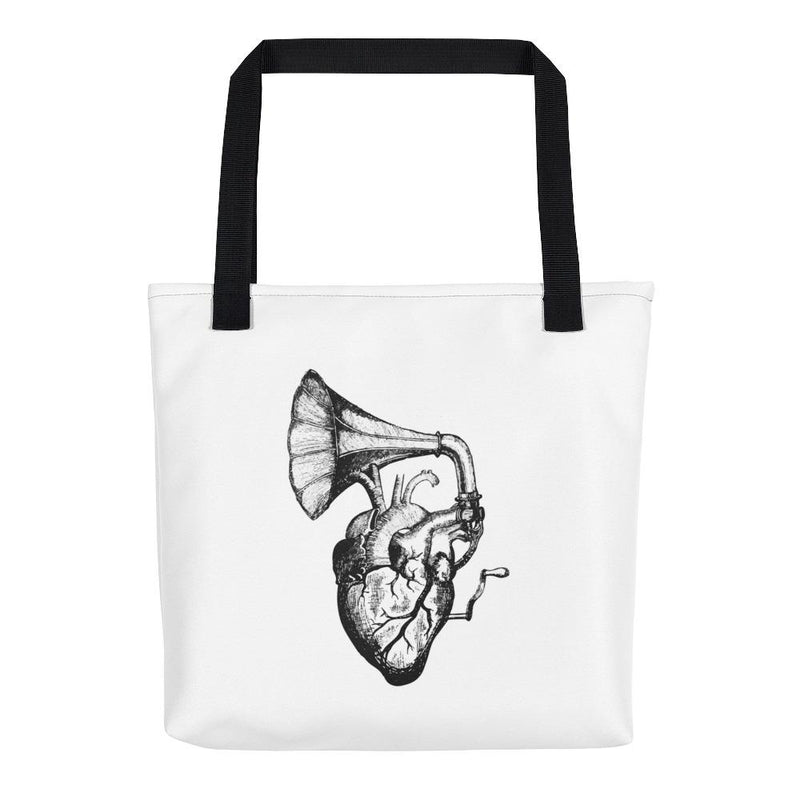 Heart Speaks Tote Bag - Hipsters Wonderland - Tumblr Clothing - Tumblr Accessories- Aesthetic Clothing - Aesthetic Accessories - Hipster's Wonderland - Hipsterswonderland