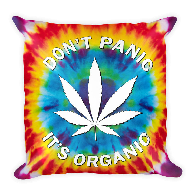 Trippy Pins Square Pillow