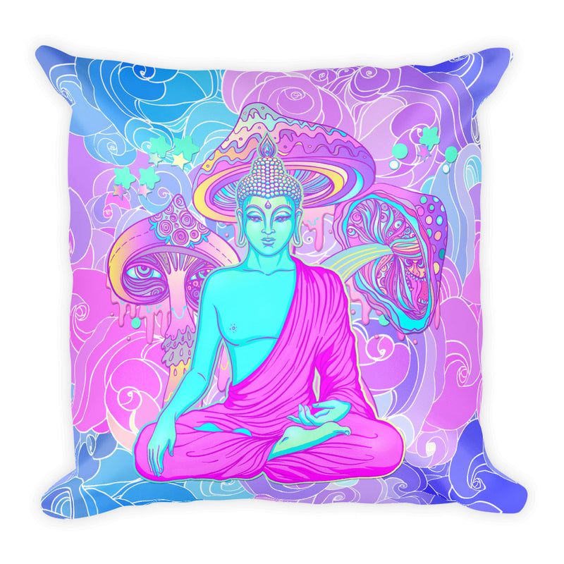 Girl Power Square Pillow