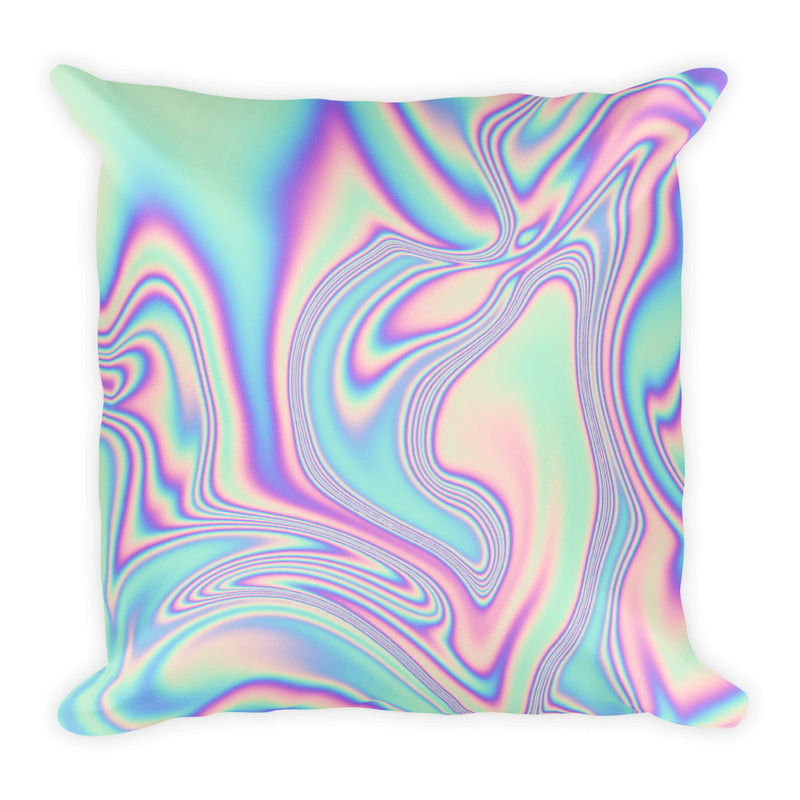 Planets Hand Drawn Square Pillow