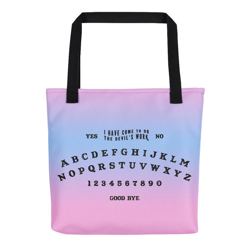 Ouija Board Tote Bag - Hipsters Wonderland - Tumblr Clothing - Tumblr Accessories- Aesthetic Clothing - Aesthetic Accessories - Hipster's Wonderland - Hipsterswonderland