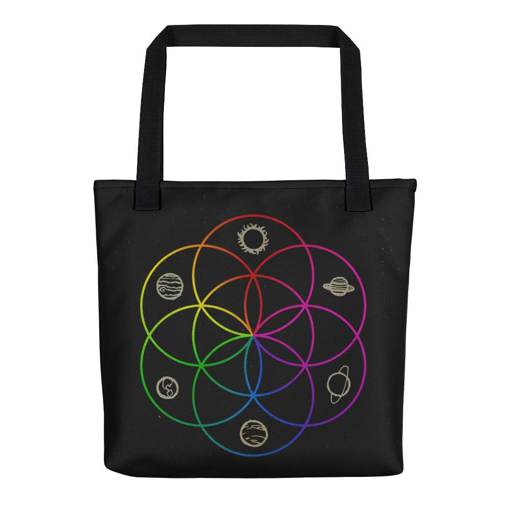 Seed of Life Tote Bag - Hipsters Wonderland - Tumblr Clothing - Tumblr Accessories- Aesthetic Clothing - Aesthetic Accessories - Hipster's Wonderland - Hipsterswonderland