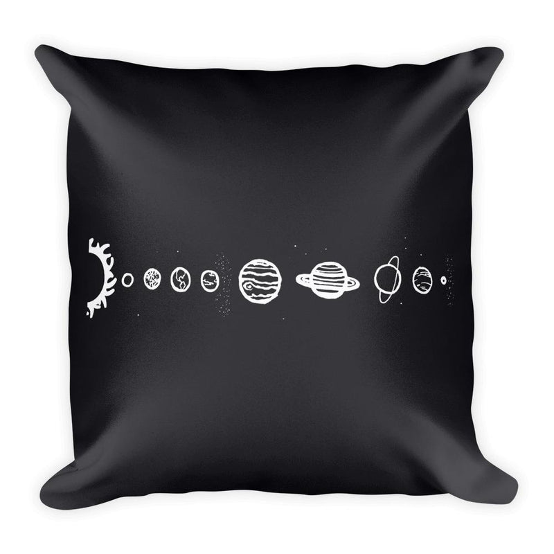 Solar System Square Pillow - Hipsters Wonderland - Tumblr Clothing - Tumblr Accessories- Aesthetic Clothing - Aesthetic Accessories - Hipster's Wonderland - Hipsterswonderland
