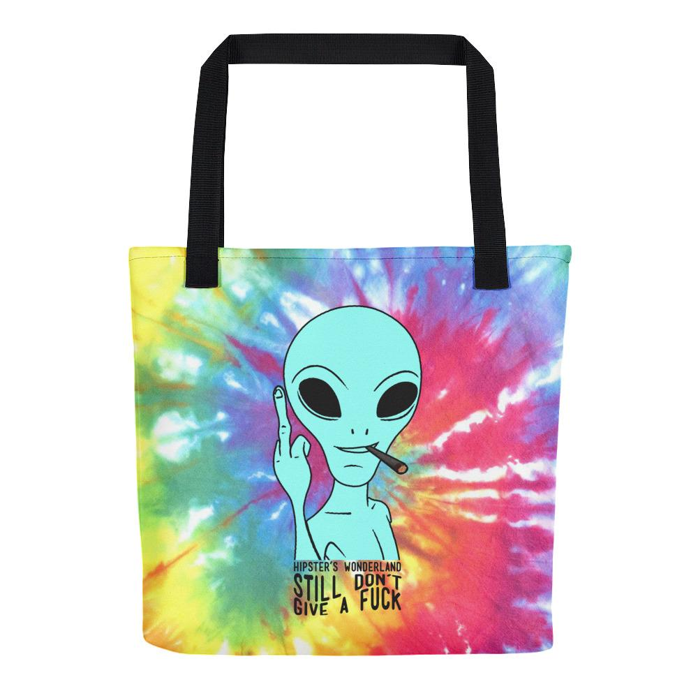 Still Alien Tote Bag - Hipsters Wonderland - Tumblr Clothing - Tumblr Accessories- Aesthetic Clothing - Aesthetic Accessories - Hipster's Wonderland - Hipsterswonderland