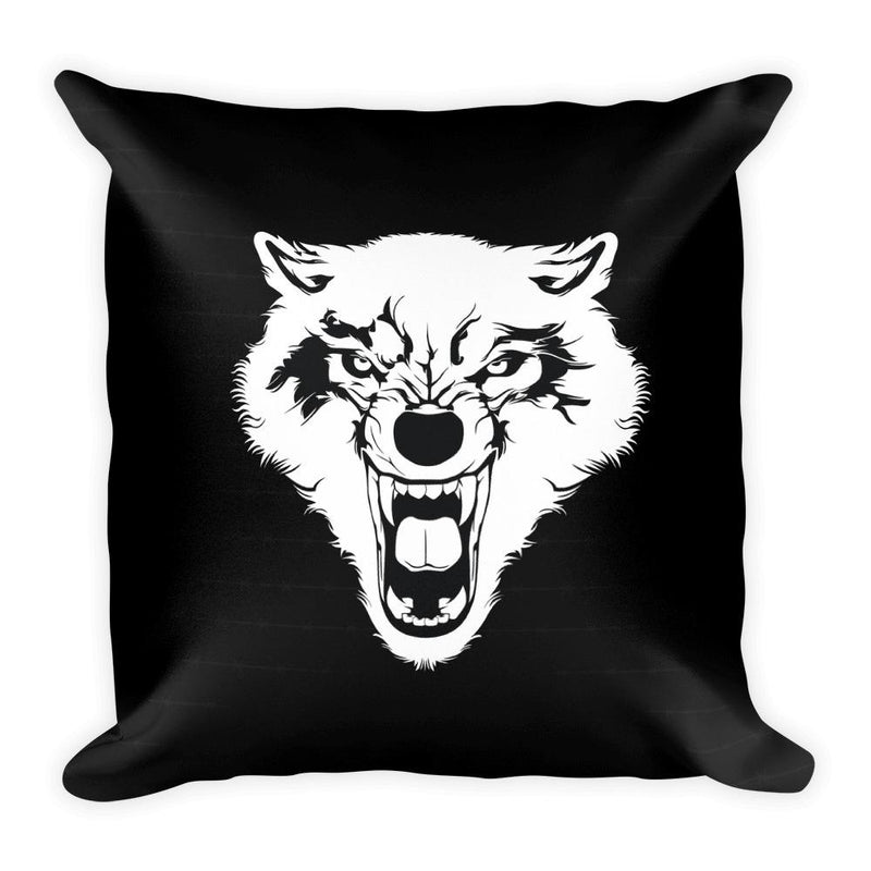 The Beast Square Pillow - Hipsters Wonderland - Tumblr Clothing - Tumblr Accessories- Aesthetic Clothing - Aesthetic Accessories - Hipster's Wonderland - Hipsterswonderland