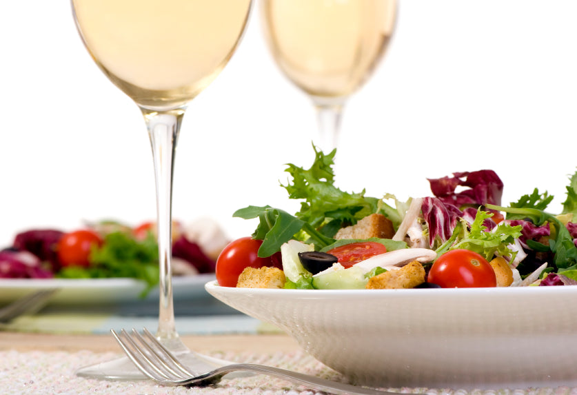 What's the best wine to have with a salad?