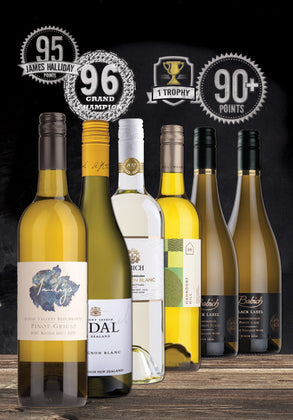 PREMIUM WHITE WINE MIXED DOZEN 9.1