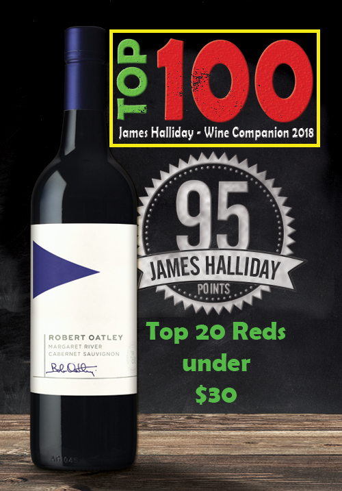 Robert Oatley Margaret River Cabernet Sauvignon 2017 | HALLIDAY TOP 100
