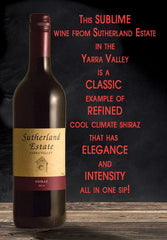 Sutherland Estate Yarra Valley Shiraz 2014