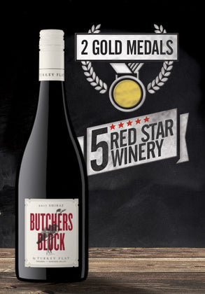 Turkey Flat Butcher Block Shiraz 2018