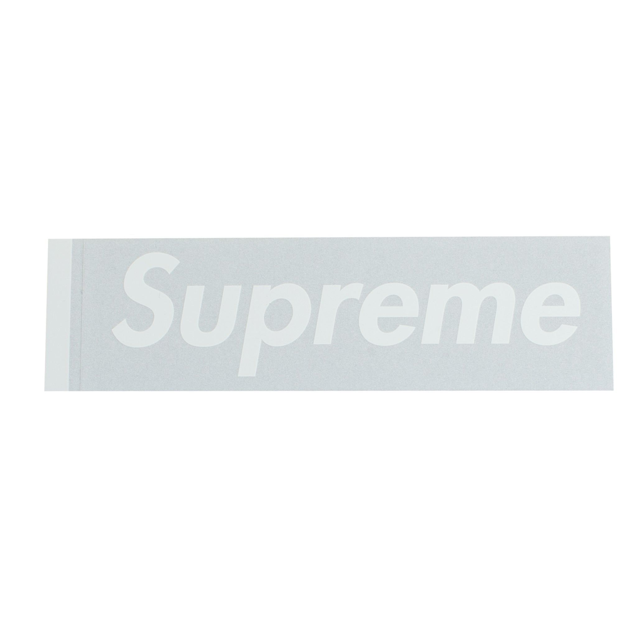 Supreme Silver 3M Box Logo Sticker