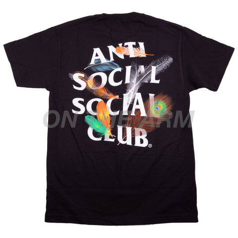 Anti Social Social Club Black Birdbath Tee