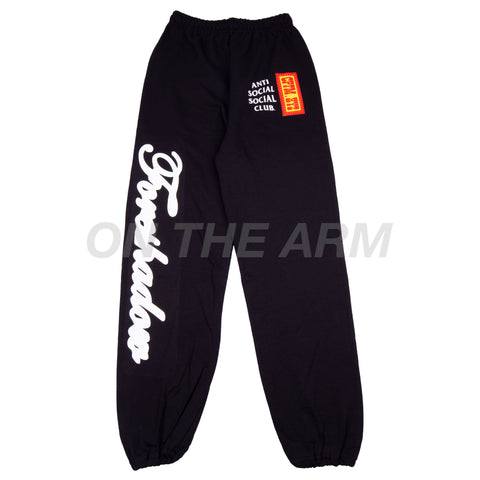 Anti Social Social Club Black CPFM Sweats