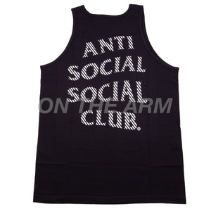 Anti Social Social Club Black Goodbye Summer Tank Top