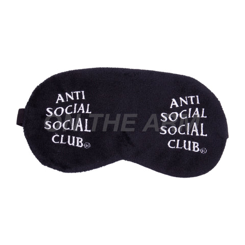 Anti Social Social Club Black Offline Mask