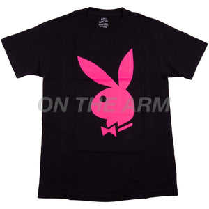 Anti Social Social Club Black Playboy Bunny Tee