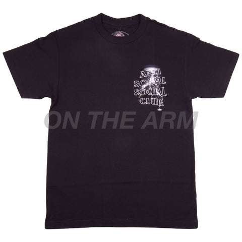 Anti Social Social Club Black Twisted Tee