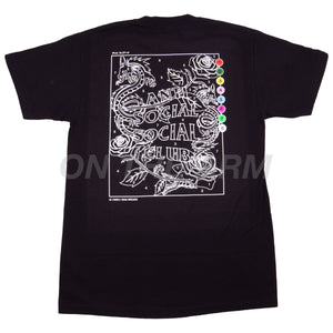 Anti Social Social Club Black Up To You Tee