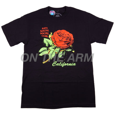 Anti Social Social Club Black California Tee