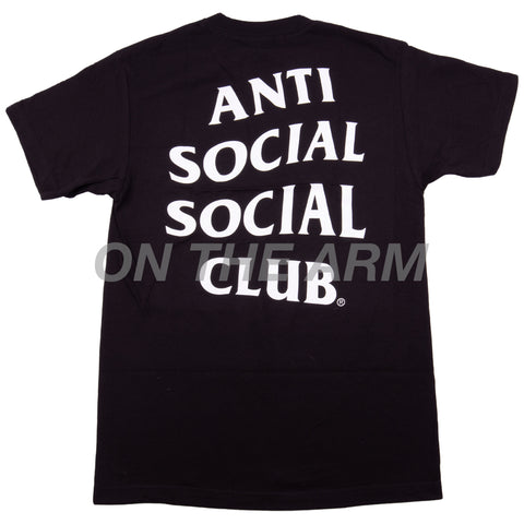 Anti Social Social Club Black Logo Tee