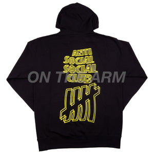 Anti Social Social Club Black Undefeated Hoodie