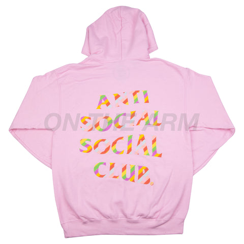 Anti Social Social Club Pink Sweeter Than You Hoodie