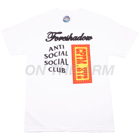 Anti Social Social Club White CPFM Tee