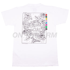Anti Social Social Club White Up To You Tee