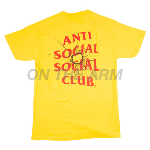 Anti Social Social Club Yellow Theories Tee