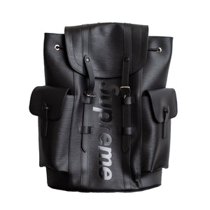 Supreme Black Louis Vuitton Christopher Backpack