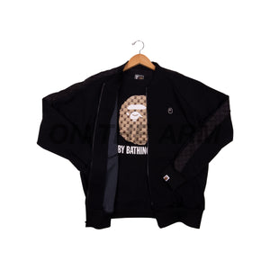 Bape Black Gucci Track Jacket + Tee Set
