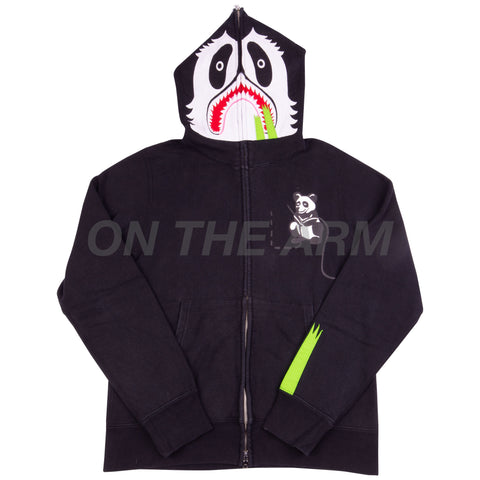 Bape Black Panda Full Zip USED