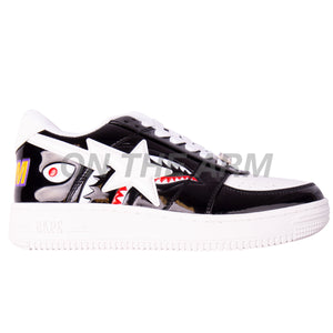 Bape Black Shark Color Block Bapesta
